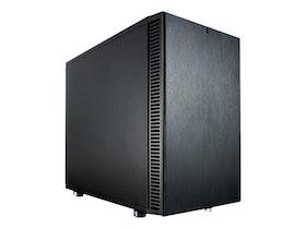 Fractal Design Define Nano S - Tower - ITX - inget nätaggregat (ATX) - svart - USB/ljud