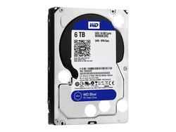 "WD Blue Harddisk 6TB 3.5"" SATA-600 5400rpm"