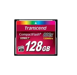 Transcend CompactFlash-kort 128 GB
