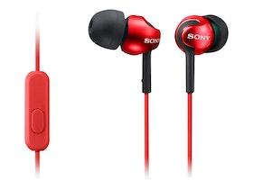 Sony MDR EX110AP Kabling Röd Svart