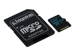 Kingston Canvas Go! microSDXC 64 GB Video Class V30 / UHS-I U3 / Class10