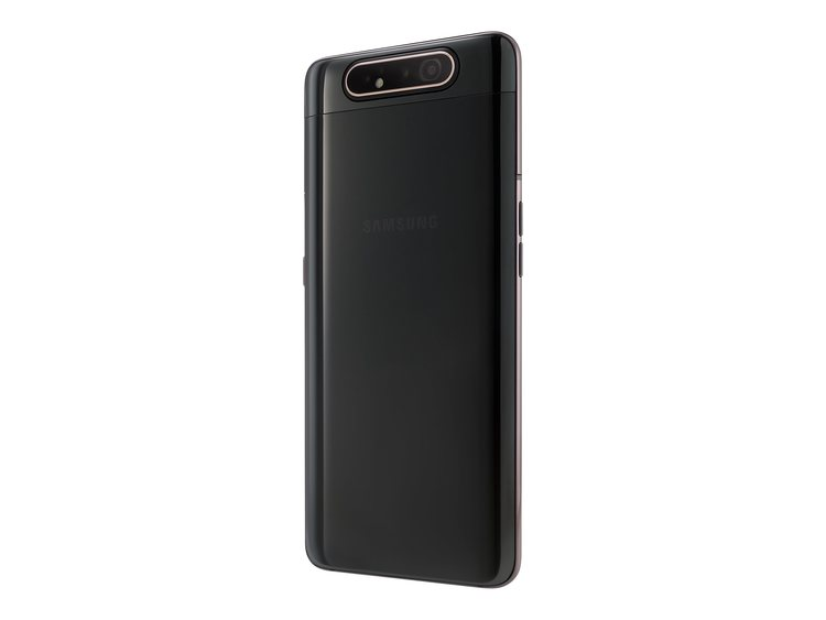 Samsung Galaxy A80 - Smartphone - dual-SIM - 4G LTE - 128 GB- Svart