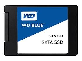 """WD Blue 3D NAND SATA SSD SSD WDS100T2B0A 1TB 2.5"""" SATA-600"""