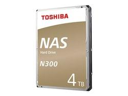 "Toshiba Harddisk N300 4TB 3.5"" SATA-600 7200rpm"