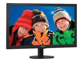 "Philips V-line 273V5LHSB 27"" 1920 x 1080 VGA (HD-15) HDMI 60Hz"