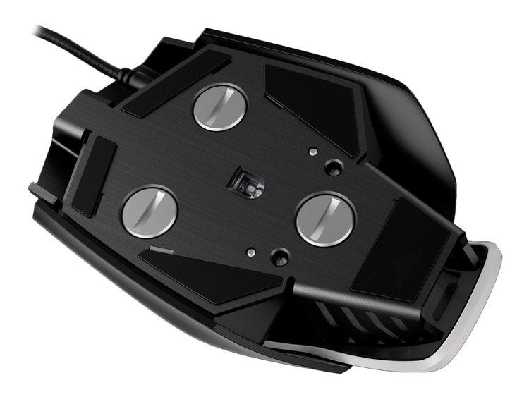 CORSAIR Gaming M65 PRO RGB FPS Optisk Kabling Svart Vit
