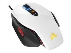 CORSAIR Gaming M65 PRO RGB FPS Optisk Kabling Svart Vit