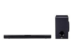 LG SJ2 2.1-kanal Svart Sound bar system