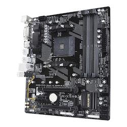 Gigabyte GA-AB350M-DS3H V2 - 1.1 - micro ATX - Socket AM4
