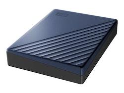 WD My Passport Ultra Harddisk WDBFTM0040BBL 4TB USB 3.0