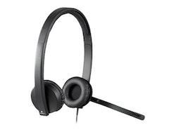 Logitech USB-headset H570e Kabling Svart Headset