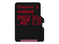 Kingston Canvas React microSDXC 128 GB A1 / Video Class V30 / UHS-I U3 / Class10