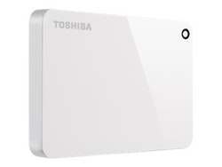 Toshiba Canvio Harddisk Advance 2TB USB 3.0 Vit