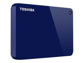 Toshiba Canvio Harddisk Advance 2TB USB 3.0 Blå