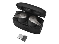Jabra Evolve 65t MS - Riktiga trådlösa hörlurar