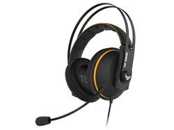 ASUS TUF Gaming H7 Wireless - Headset - fullstorlek - 2,4 GHz - trådlös - gul