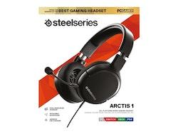 SteelSeries Arctis 1 - Headset - fullstorlek - kabelansluten - 3,5 mm kontakt
