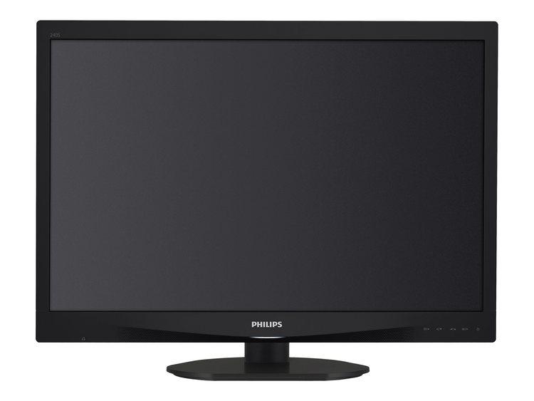"Philips S-line 240S4QYMB 24 ""1920 x 1200 DVI VGA (HD-15) DisplayPort 60Hz Pivot Skärm"