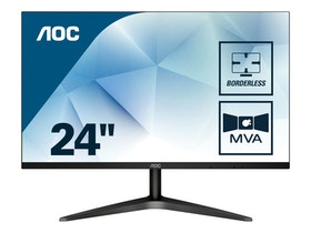 "AOC 24B1H 23.6"" 1920 x 1080 VGA (HD-15) HDMI 60Hz"