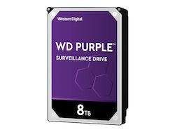 """WD Purple Surveillance Hard Drive Harddisk WD82PURZ 8TB 3,5 """"SATA-600 7200 rpm"""