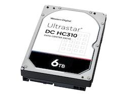 """WD Ultrastar DC HC310 hårddisk HUS726T6TALE6L4 6TB 3,5 """"SATA-600 7200 rpm"""