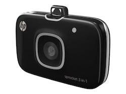 HP Sprocket 2-i-1 svart