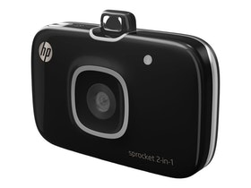 HP Sprocket 2-i-1 svart
