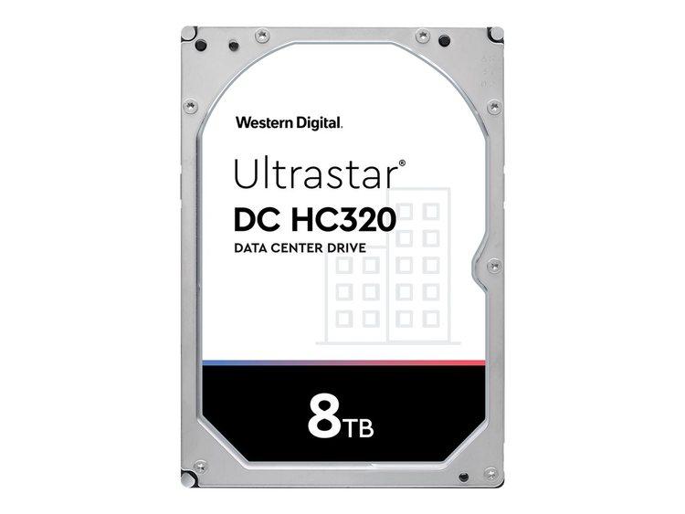 """WD Ultrastar DC HC320 Harddisk HUS728T8TALE6L4 8TB 3.5"""" SATA-600 7200rpm"""