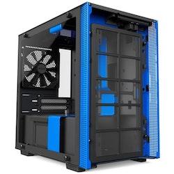 NZXT H series H200 - Tower - blå
