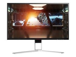 "AOC Gaming AG241QX 24 ""2560 x 1440 DVI VGA (HD-15) HDMI DisplayPort 144Hz Pivot Skärm"
