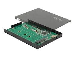DeLOCK Ekstern Lagringspakning USB 3.1 (Gen 2) SATA