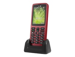 """Doro 5517 2.4"""" 3G Röd"""