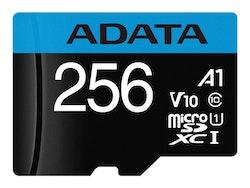 ADATA microSD 256GB Premier UHS-I Cl10   + Adapter