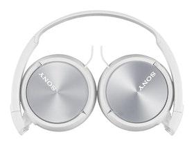 Sony MDR ZX310 Kabling Vit Hörlurar