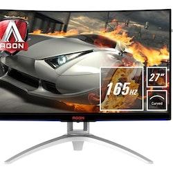 "AOC Gaming AG272FCX6 27 ""1920 x 1080 VGA (HD-15) HDMI DisplayPort 165Hz"