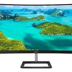 """Philips E-line 322E1C 32 """"1920 x 1080 VGA (HD-15) HDMI DisplayPort 75Hz"""