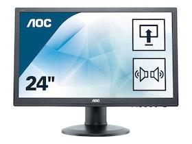 "AOC E2460PDA 24"" 1920 x 1080 DVI VGA (HD-15) 60Hz"