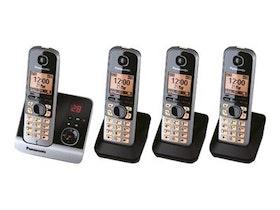 Panasonic KX-TG6724GB Svart