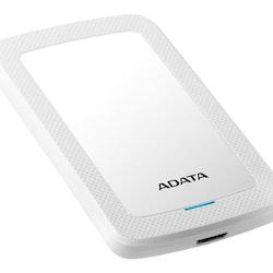 ADATA hårddisk HV300 1TB USB 3.1 Vit