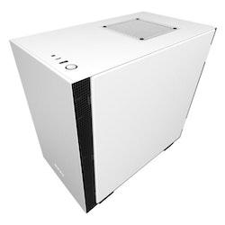 NZXT H series - Tower - mini ITX - inget nätaggregat - Vit