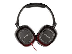 Creative Draco HS880 - Headset- Röd Svart