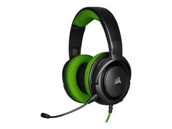 CORSAIR Gaming HS35 Kabling Grön Svart Headset