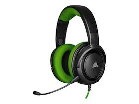 CORSAIR Gaming HS35 Kabling Grön Svart Headset