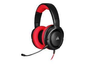 CORSAIR Gaming HS35 Kabling Röd Svart Headset