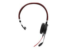 Jabra Evolve 40 MS mono Kabling Svart Headset