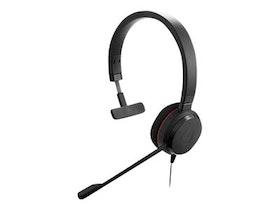 Jabra Evolve 20 MS mono Kabling Svart Headset
