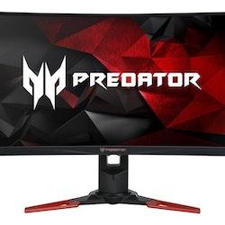 """Acer Predator Z271Ubmiphzx 27"""" 2560 x 1440 HDMI DisplayPort 165Hz"""