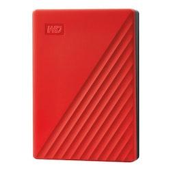 WD My Passport Harddisk WDBPKJ0040BRD 4TB USB 3.0