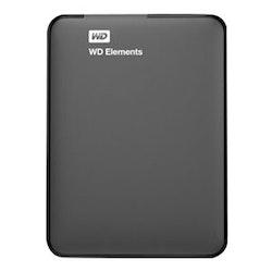 WD Elements Portable Harddisk WDBUZG7500ABK 750 GB USB 3.0