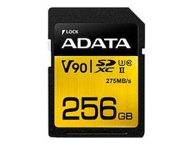 ADATA Premier ONE SDXC UHS-II Memory Card 256GB UHS-II U3 / Class10